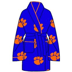 Clemson Tigers All Over Print Cozy Robe
