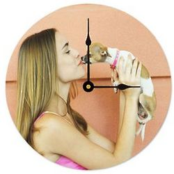 Design Your Own Photo Wall Clock