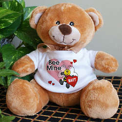 Bee Mine Personalized Teddy Bear