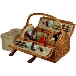 Gazebo Design Sussex Picnic Basket for Two