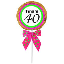40th Birthday CookiePops
