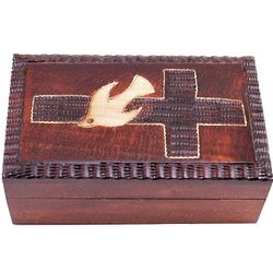 Cross and Dove Confirmation Box