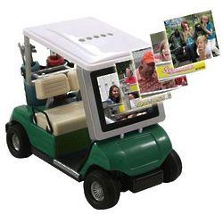 Golf Cart Digital Photo Frame