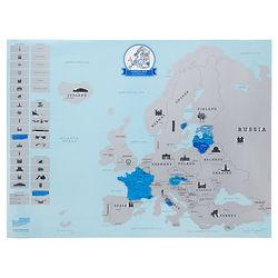 Europe Scratch Map
