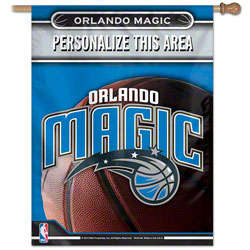 Orlando Magic Personalized Vertical Banner