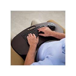 The Wireless Lap Desk Keyboard