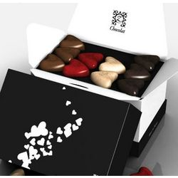 Romantic zBox 42 Gift of Love French Chocolates Gift Box