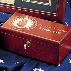 Personalized Police Memory Box
