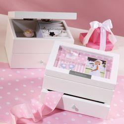 Girl's Personalized Photo Frame Jewelry Box