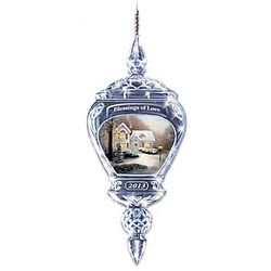 Thomas Kinkade Blessings of Love Ornament