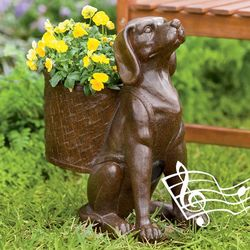 Woofer Wireless Outdoor Dog Planter Speaker