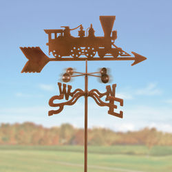 Steam Engine Train Weathervane