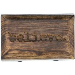 Personalized Believe Rosary Box