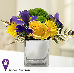 Vibrant Fields Bouquet Centerpiece