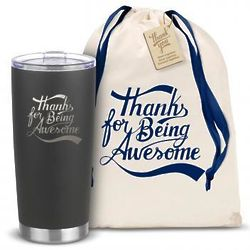 The Joe Thanks for Being Awesome Tall Insulated Travel Tumbler
