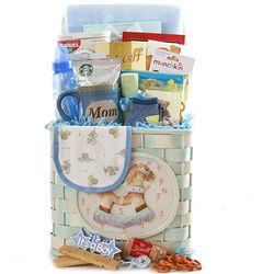 Rockin New Baby Gift Basket