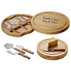 Personalized Circo Cheese Board Set