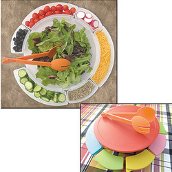Serve & Store Salad Bar Set