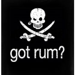 Got Rum? Pirate Crossbones T-Shirt