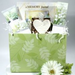Lily of the Valley Sympathy Basket