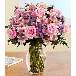 Pink Sapphire Floral Bouquet