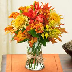 Fields of Europe for Fall Flower Bouquet