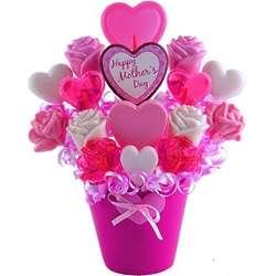 Sweet Hearts for Mom Lollipop Bouquet