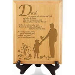 A Great Dad Wooden Plaque