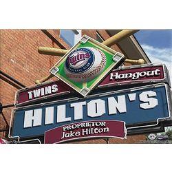 Personalized Minnesota Twins Pub Sign