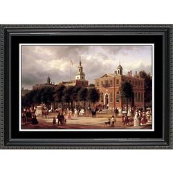 Independence Hall Framed Print