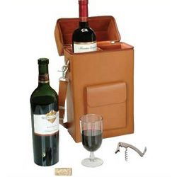 Personalized Connoisseur Wine Carrier