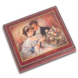 Token of Love Ercolano Musical Jewelry Box