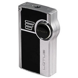 Genesis Lighter with Side Punch and Dual Flame