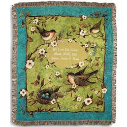 Personalized Morning Song Throw
