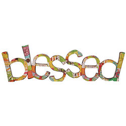 Blessed Wall Sculpture
