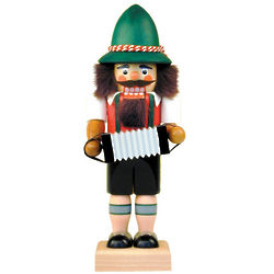 Accordion Player Nutcracker