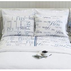 His & Hers Queen Sheet Set