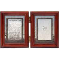 The Broken Chain Hinged Photo Frame