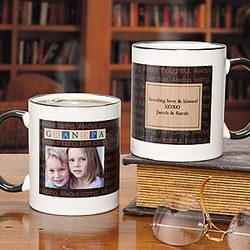 Just For Him Personalized Photo Mug