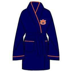 Ladies Auburn Tigers Solid Cozy Robe