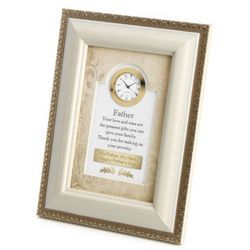 Father Frame Clock