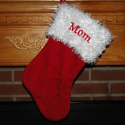 Personalized Traditional Fully Lined Christmas Stocking