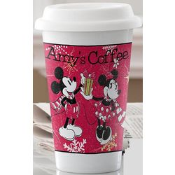 Personalized Mickey Mouse and Minnie Mouse Tumbler