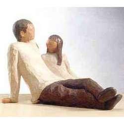 Father & Daughter Figurine