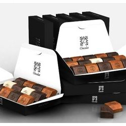 8-Pack Full Size Sampler French Chocolates Gift Box