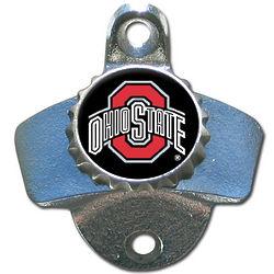NCAA Team Logo Wall-Mount Bottle Opener