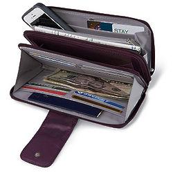 Double Zip RFID-Blocking Wallet