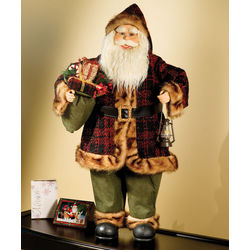 Motion Activated 3 Foot Animated Santa