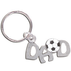 Soccer Dad Key Chain
