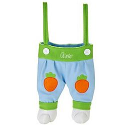 Personalized Suspender Bunny Legs Tote